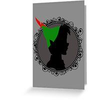 The Boy Who Never Grew Up Greeting Card