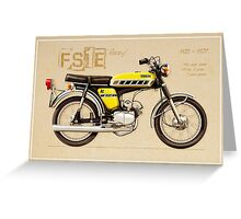 Yamaha FS 50 Greeting Card