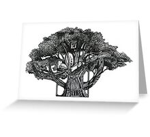 Tree of Summer Greeting Card