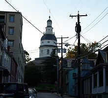 Old Towne Annapolis  by Amedori