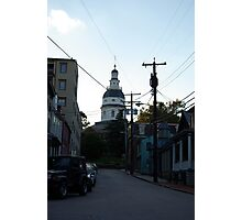 Old Towne Annapolis  Photographic Print