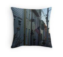 Fleet Street  Throw Pillow