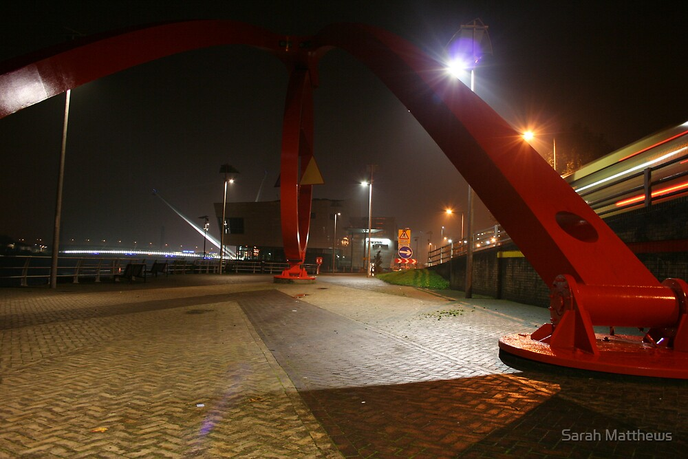 The Steel Sculpture by Sarah Matthews