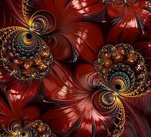 Bejewelled Crimson by Steve Purnell