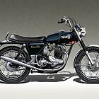 Norton Commando Roadster by tonynewland
