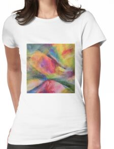 """""""Dreamscape No.2"""" original abstract artwork by Laura Tozer Womens Fitted T-Shirt"""