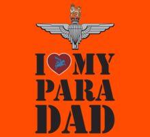 I LOVE MY PARA DAD Kids Tee