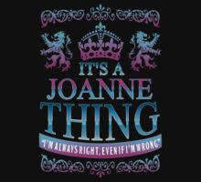 it's a JOANNE thing by RooDesign