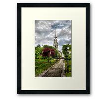The church Framed Print