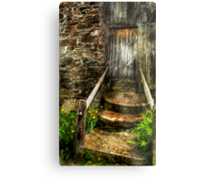 The house of a small Troll Metal Print