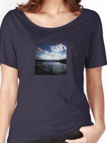 Railway Bridge, at River Nanny Estuary Women's Relaxed Fit T-Shirt