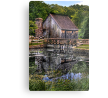 Cabin by the lake Metal Print
