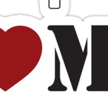 I LOVE MY AIRBORNE GRANDAD Sticker