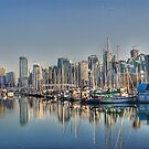 Stanley Park Boats by Dave Seeram
