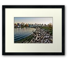 City Logs Framed Print