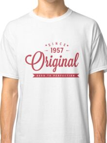 Since 1957 Original Aged To Perfection Classic T-Shirt
