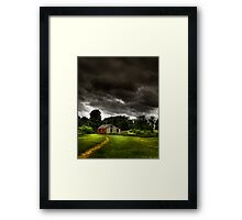 Storms a Comin... Framed Print