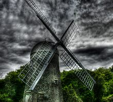 The windmill by Mike  Savad