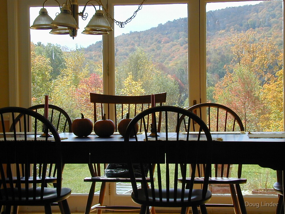 Autumn Table by Doug Linder
