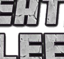 Mine Eat Sleep Repeat (minecraft) Sticker