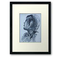 Ryan - 15 min study Framed Print