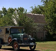 1930 Model A Ford Huckster Truck by TeeMack