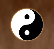 Ying Yang Colored Case-Orange by TomsTops
