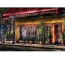 Brick Oven Cafe Photographic Print