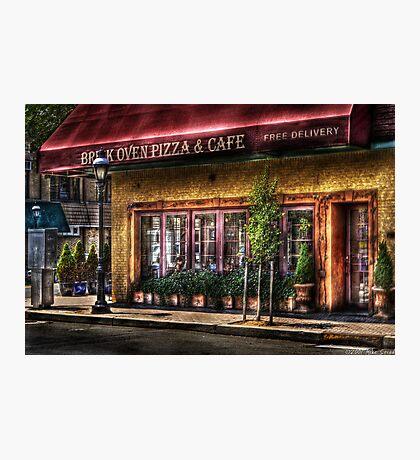 Brick Oven Cafe Photographic Print