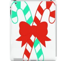 CANDY CANES - CHRISTMAS ITEMS iPad Case/Skin