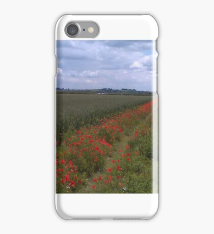 Poppies at St Malo iPhone Case/Skin