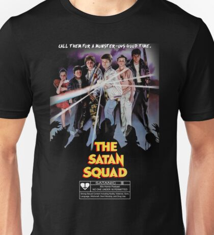 Say You Love Satan 80s Horror Podcast - The Monster Squad Unisex T-Shirt
