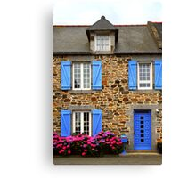 Country house in Brittany, France Canvas Print