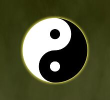 Ying Yang Colored Case-Yellow by TomsTops