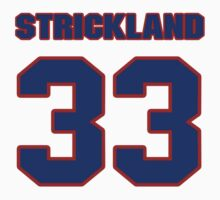 National football player Donald Strickland jersey 33 by imsport