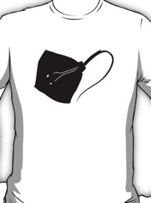 Stingray Fish Silhouette (Black) T-Shirt