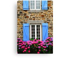 Country house in Brittany Canvas Print