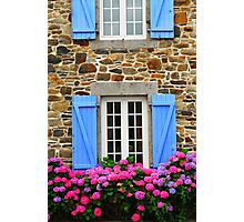 Country house in Brittany Photographic Print
