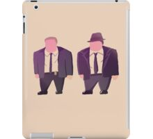 Gordon and Bullock iPad Case/Skin