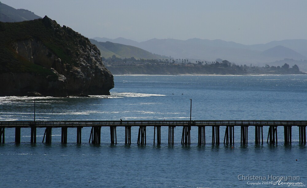 Avila Beach Pier by Christena Honeyman