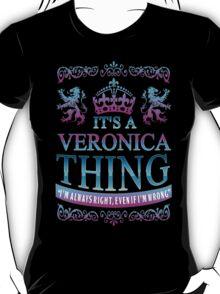 it's a VERONICA thing T-Shirt