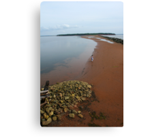 Red Island Canvas Print