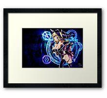 Yu-Gi-Oh! - Dark magician girl, Sexy Framed Print