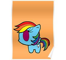 Weeny My Little Pony- Rainbow Dash Poster