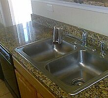 kitchen sink done by Elegant Edge by Sinyatta M
