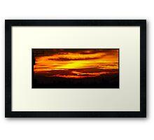 Hello Sunshine =] Framed Print