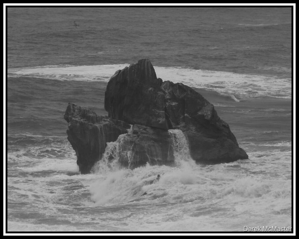 Coastal Rocks by Derek McMaster