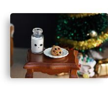 Cookies for Santa Canvas Print