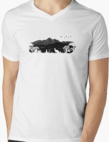 Wild Australia Mens V-Neck T-Shirt