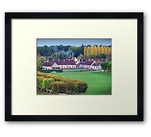 Loire Countryside Framed Print
